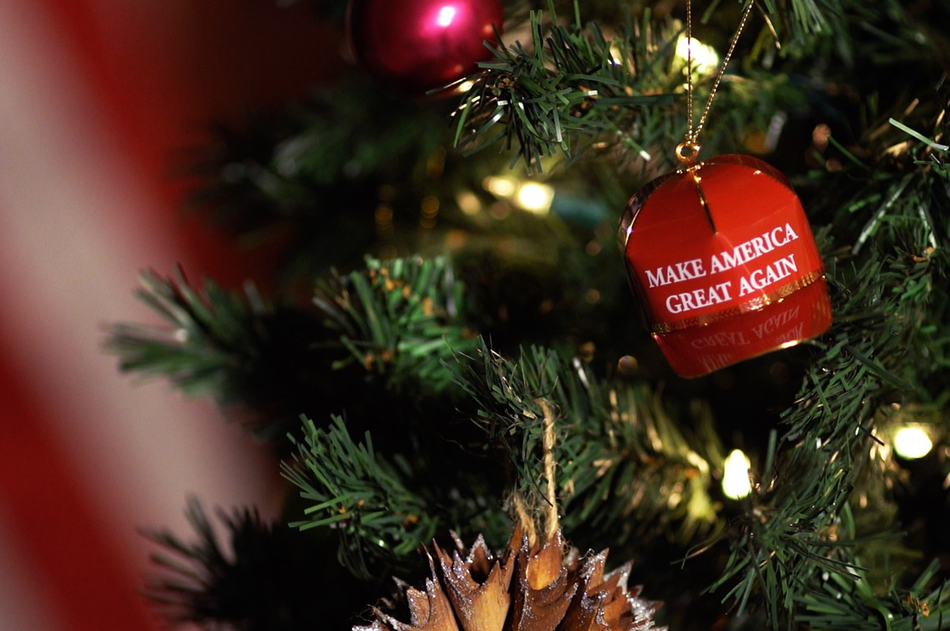 maga ornament christmas