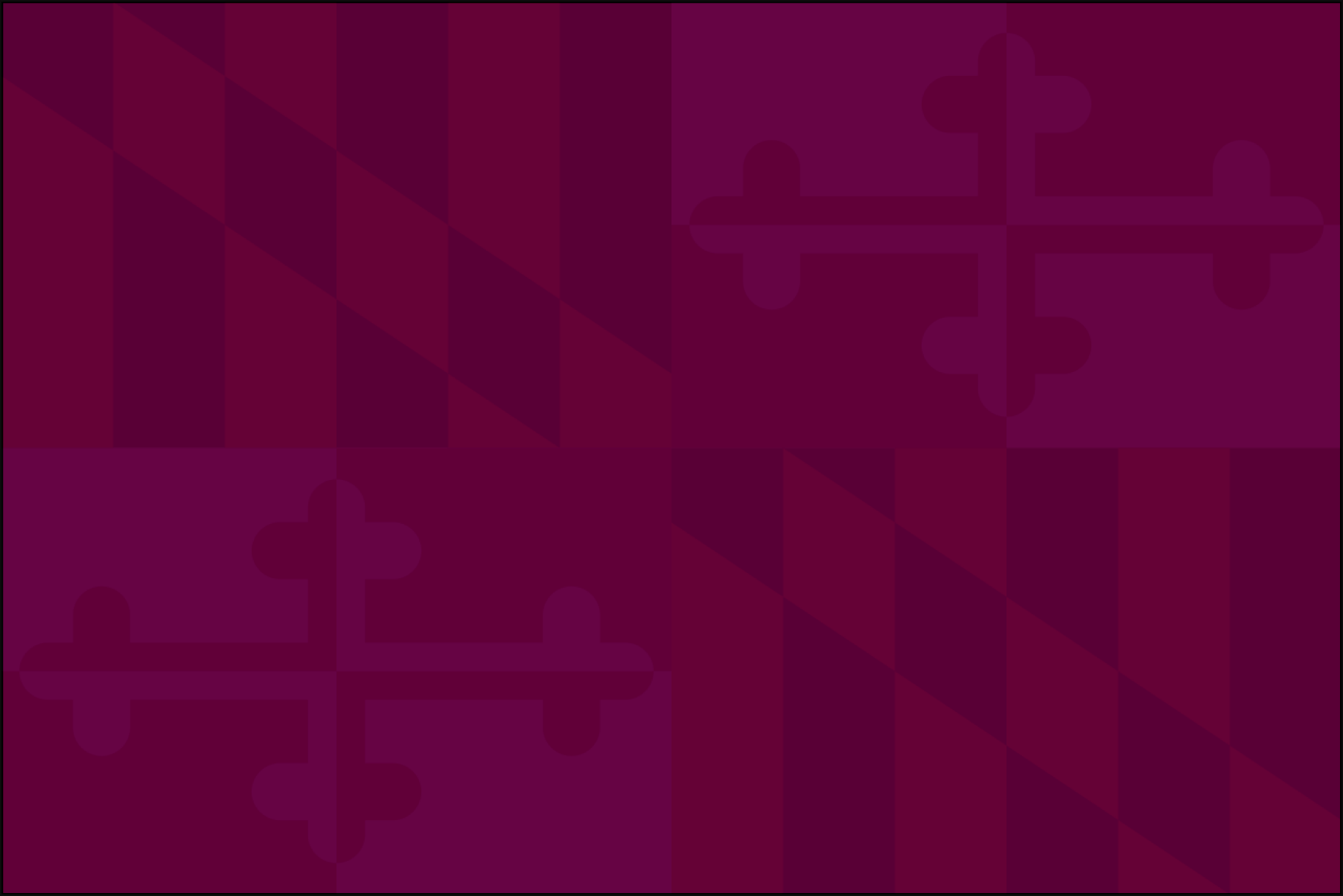 Purple md flag
