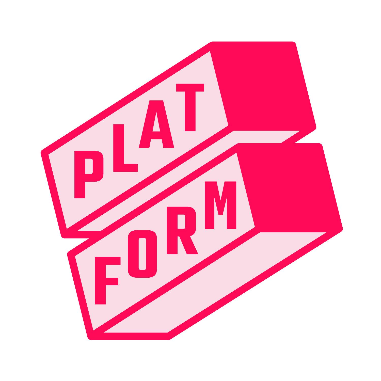 Platform logo 2color cmyk
