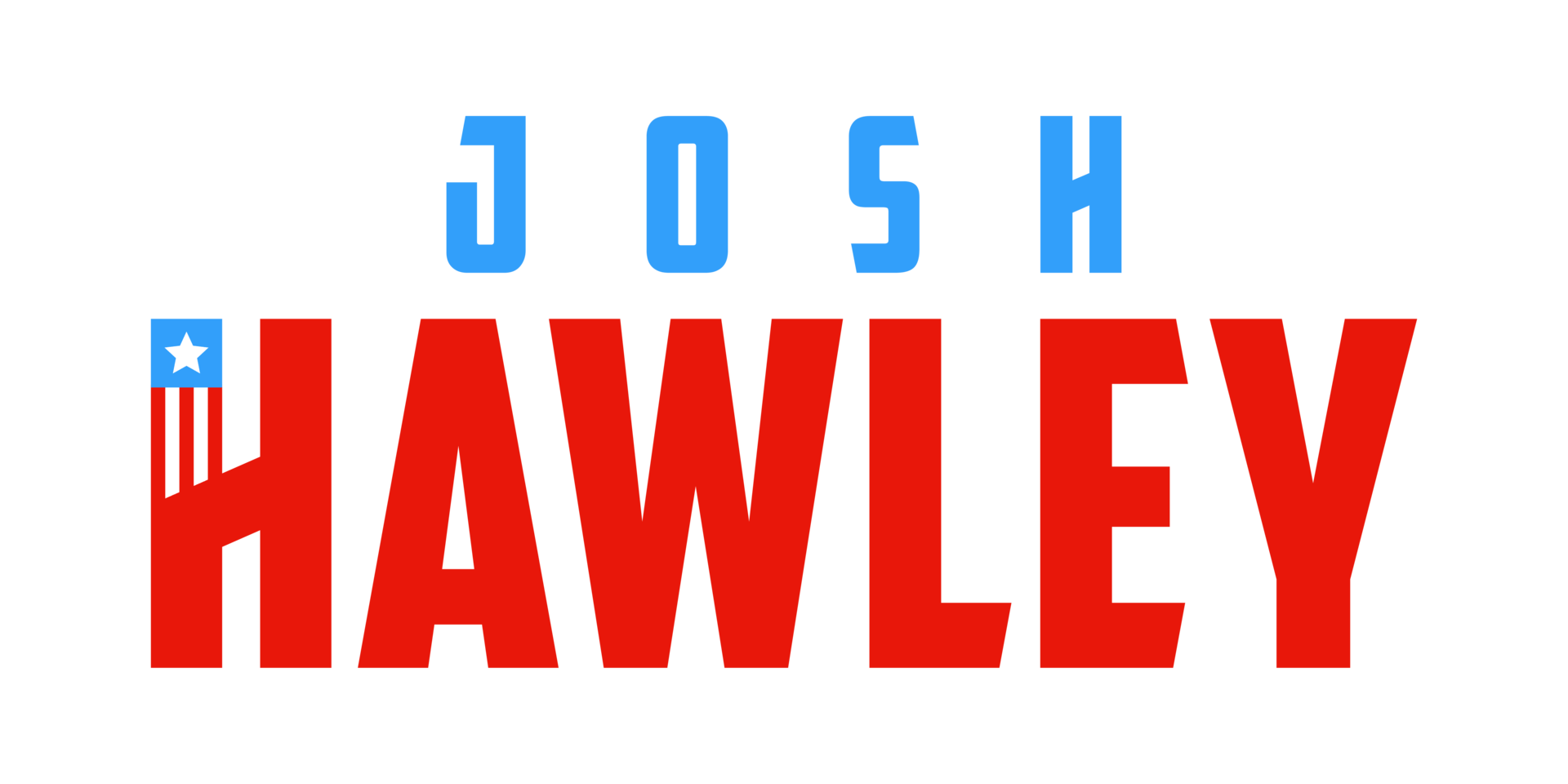 Joshhawley officiallogo  color bluestar