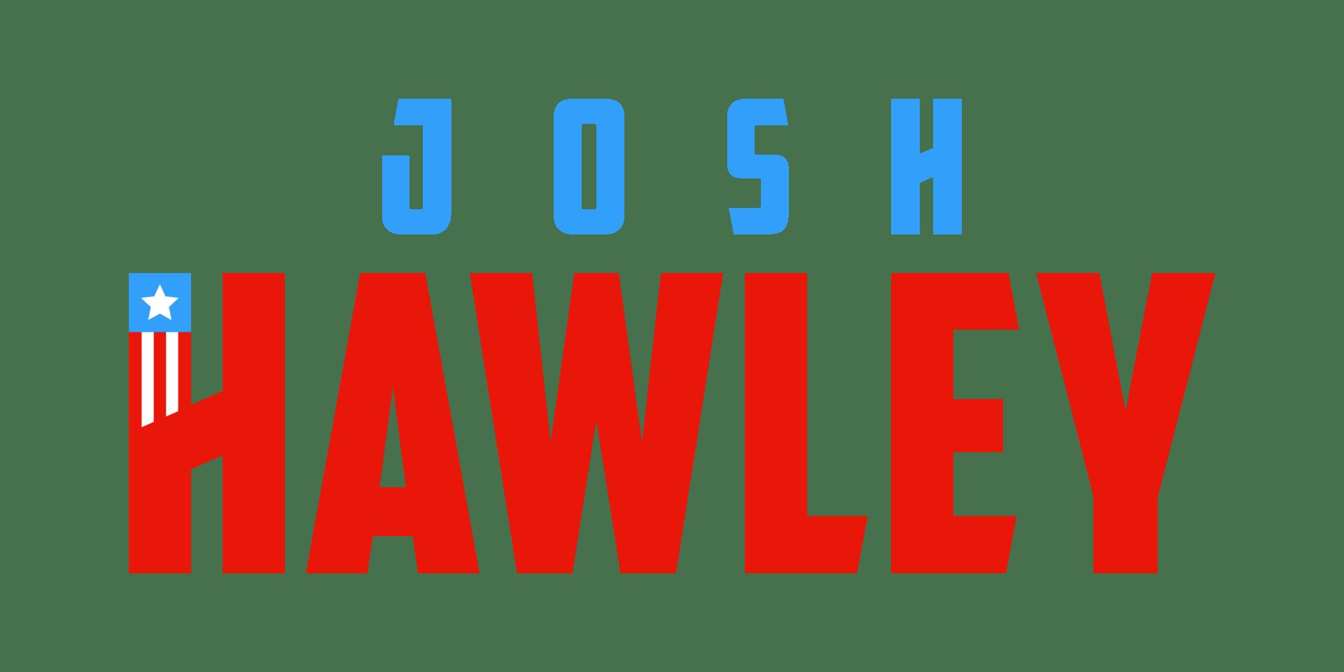 Joshhawley officiallogo  color bluestar
