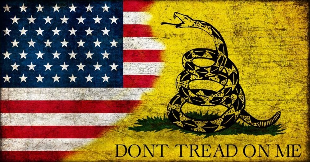 Dont tread on me banner us army navy gadsden flag dont tread on me flag 3ft x 5ft polyester