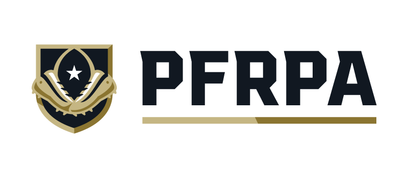Pfrpa shield wordmark on w transparent