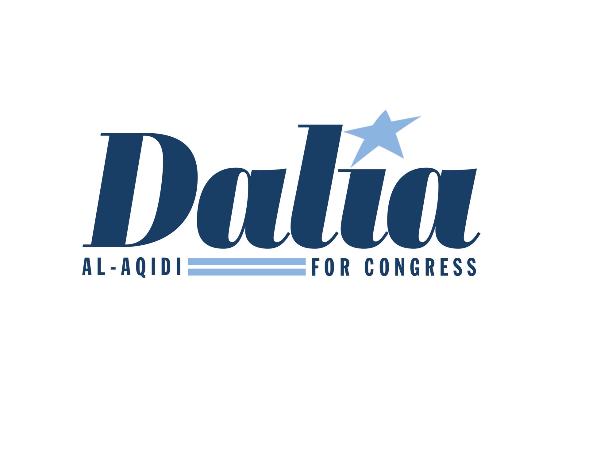 Dalia al aqidi logo blue 2