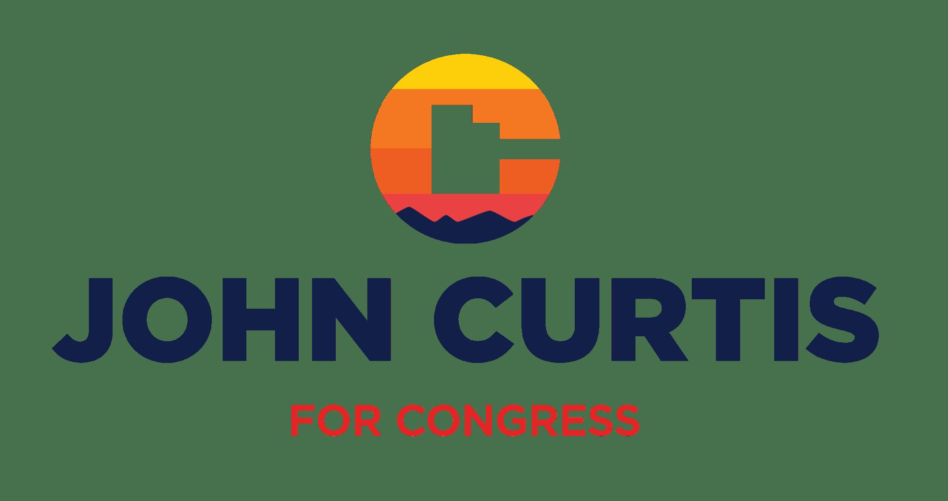 Curtis vector logos stacked