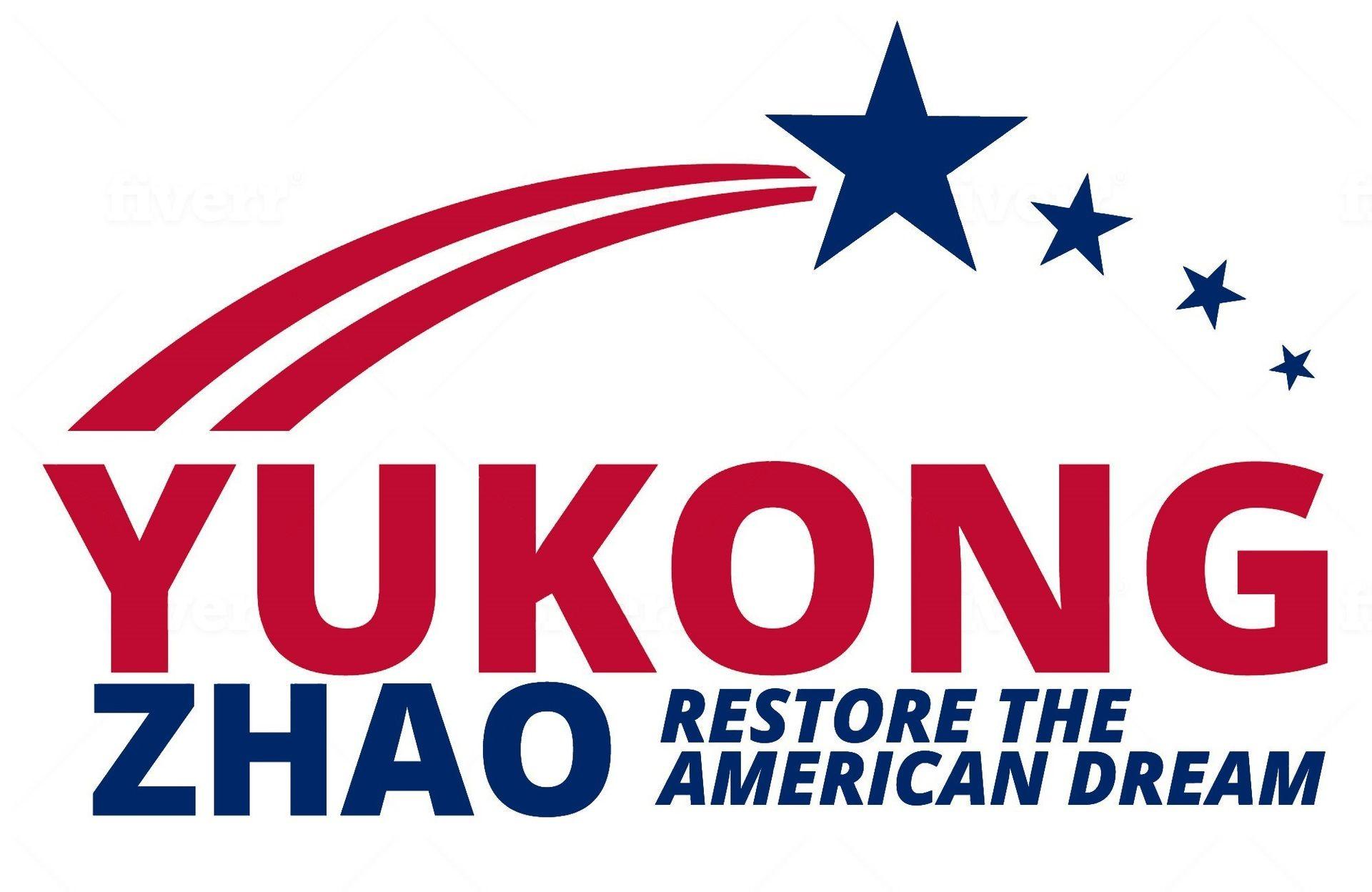 Logo american flag color