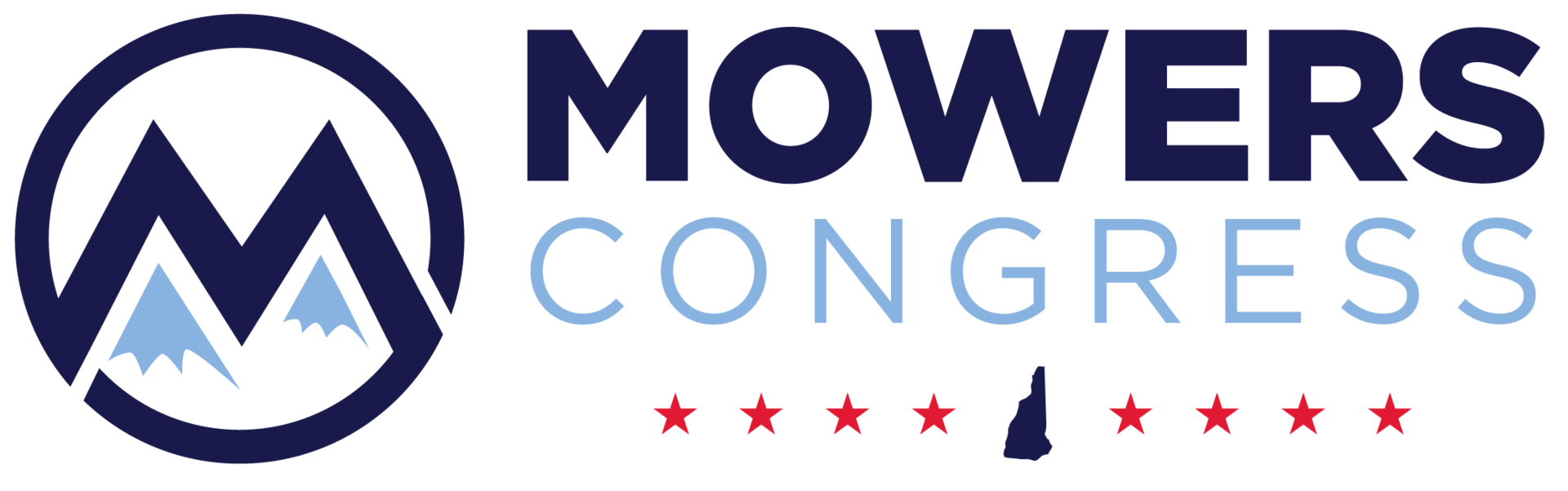 Mowers logo color dark long