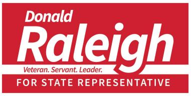 Donald raleigh logo