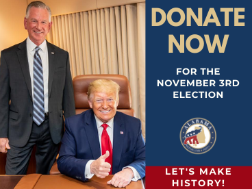 Donate now for the november 3rd election
