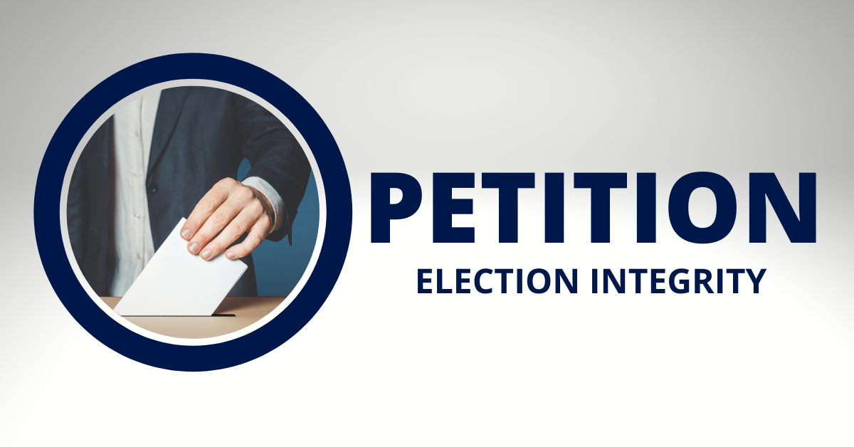 Petition  election integrity