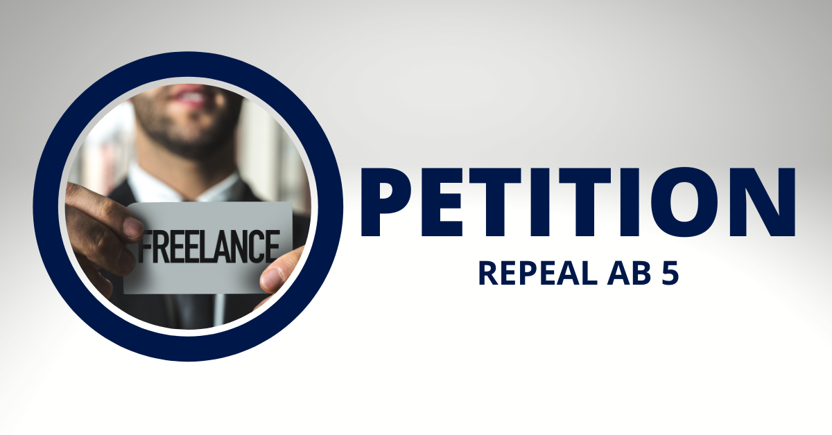 Petition  repeal ab 5