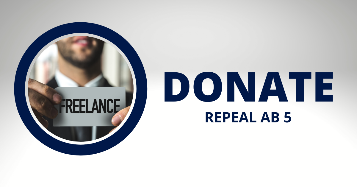 Donate  repeal ab 5