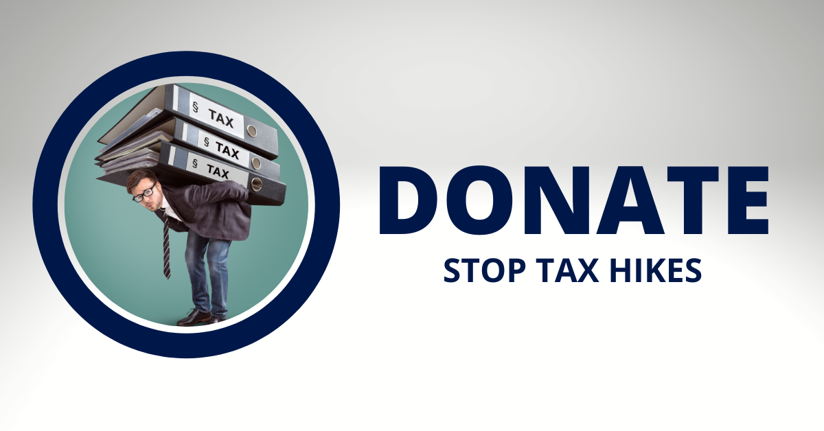 Donate  stop  tax hikes