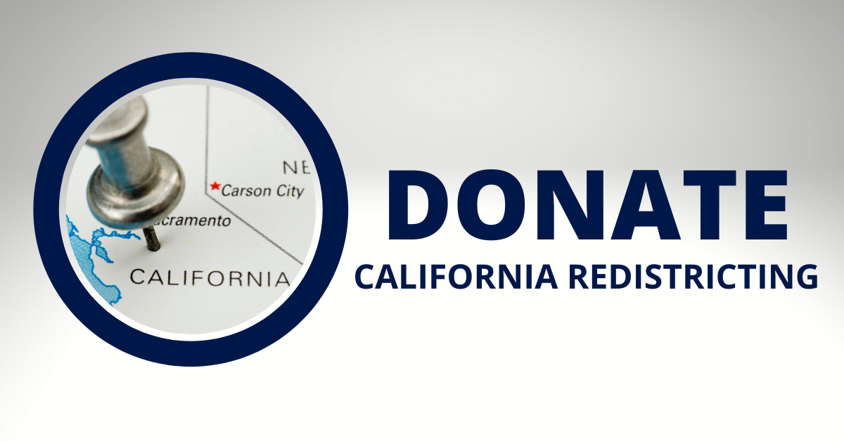 Donate  california redistricting
