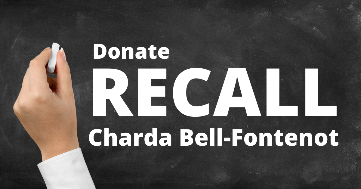 Donate  recall charda bell fontenot