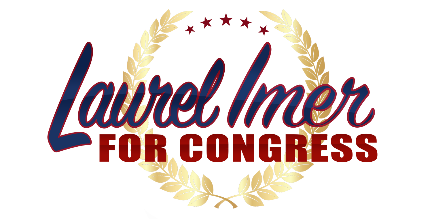 Laurel imer for congress wreath winred