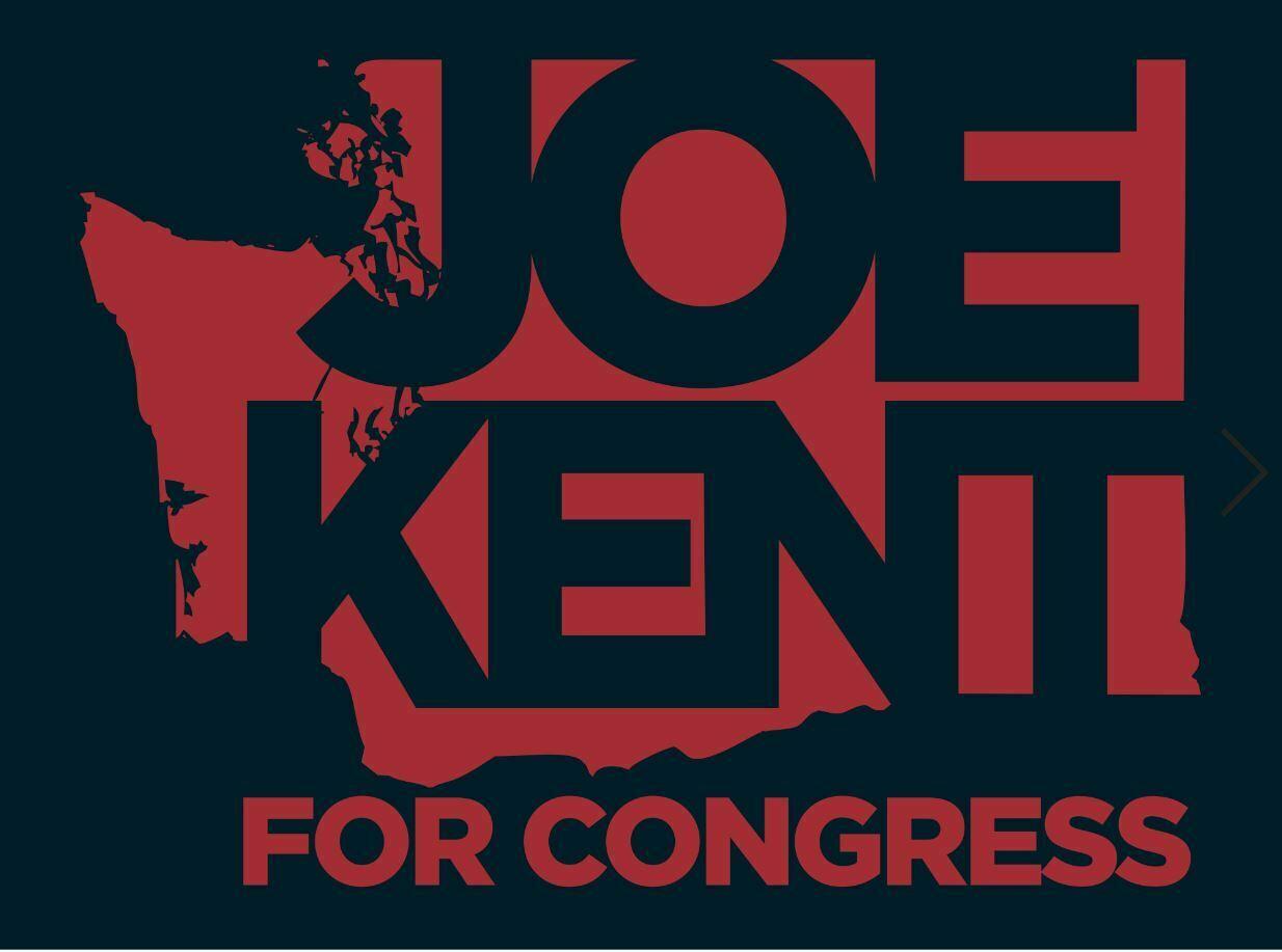 Joe kent for congress   small blue