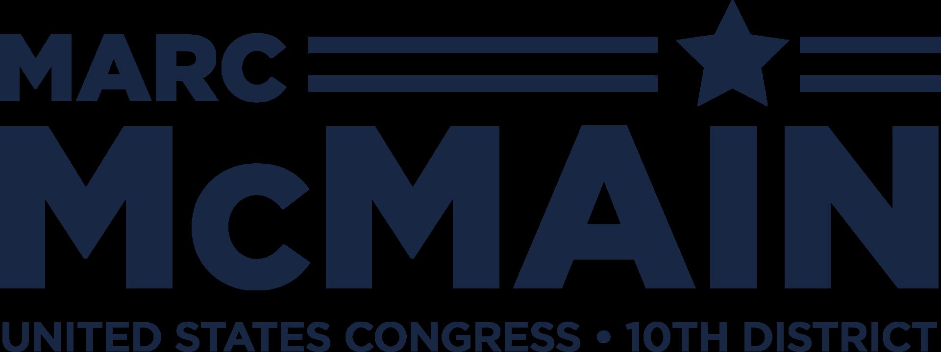 Marc logo blue