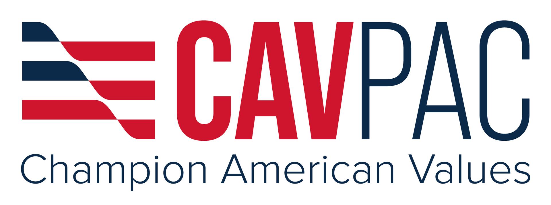 Cav pac logo white background