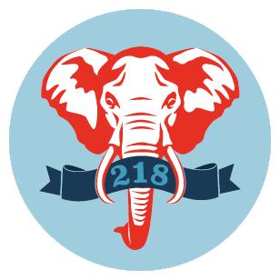 218 club logo 05