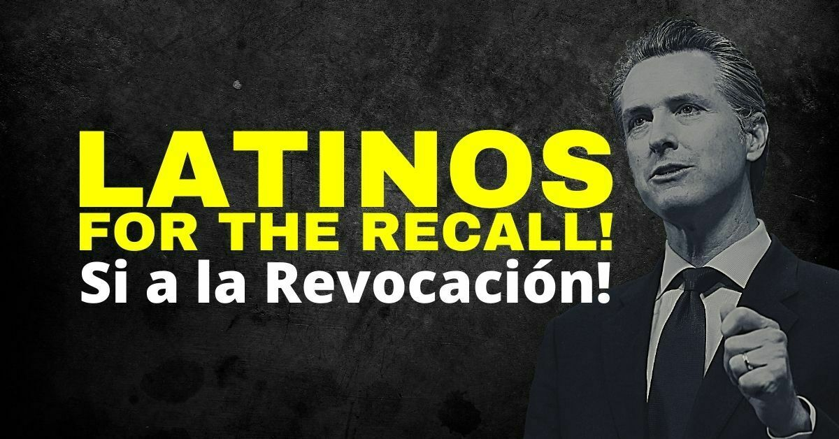 Latinos for the recall