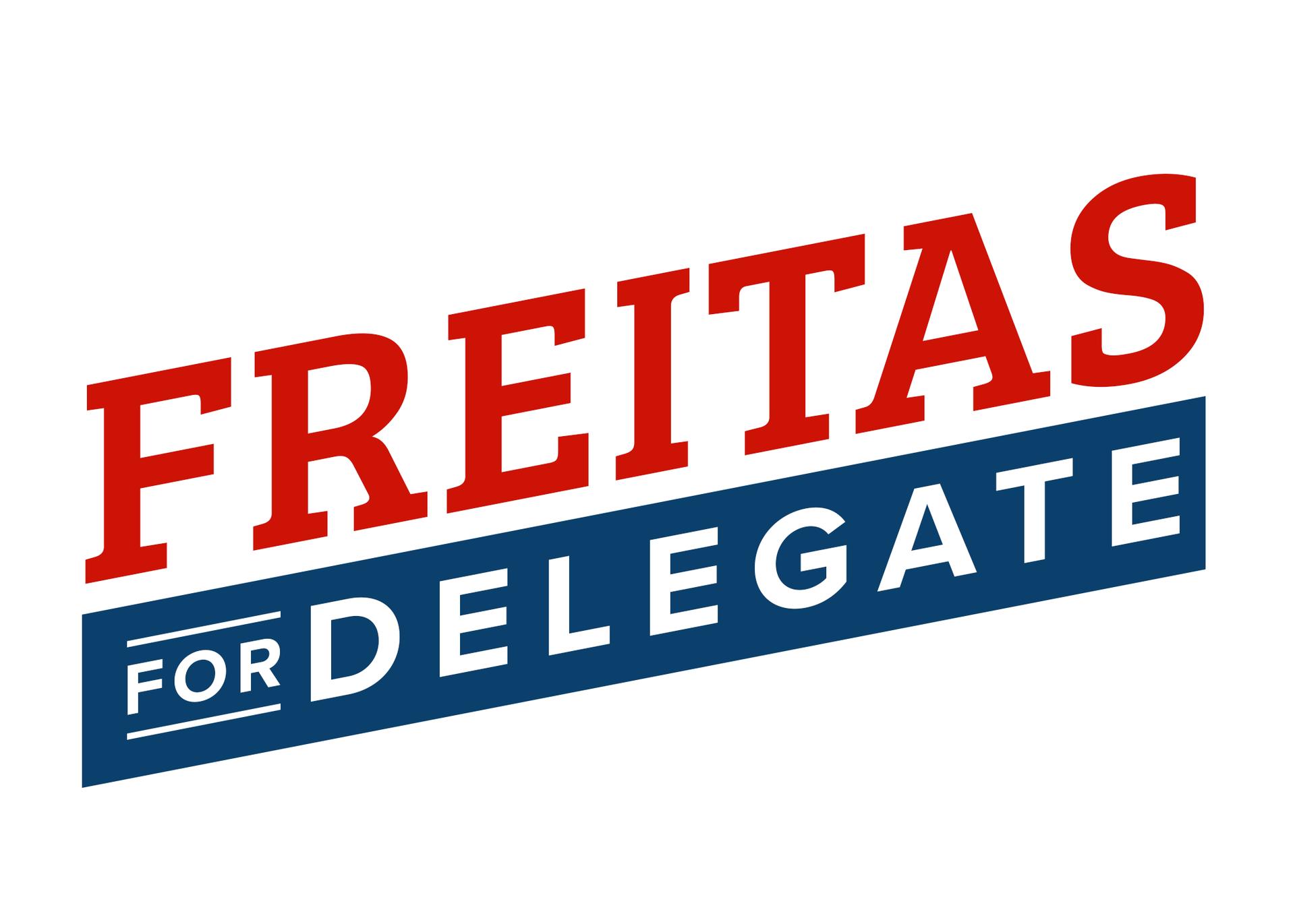 Freitas for delegate