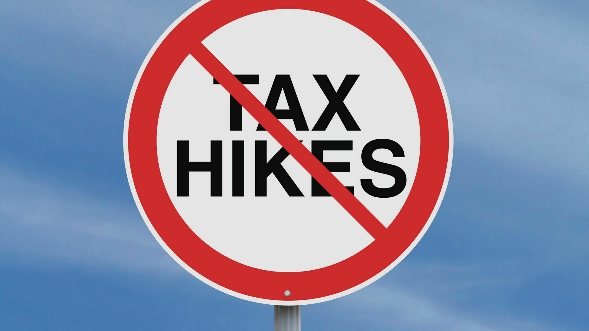 Stop tax hikes