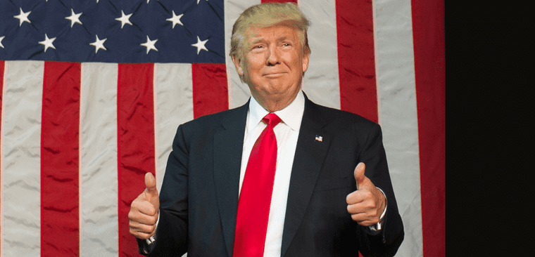 Thumbs flag mobile1 djt