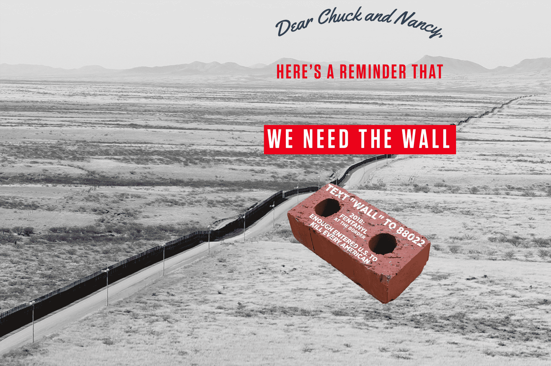 We need the wall chuck and nancy revv
